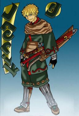 Jaerik the Swordsman by randymonki