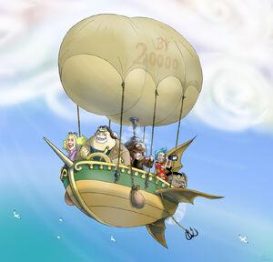 OP Airship by Aedua