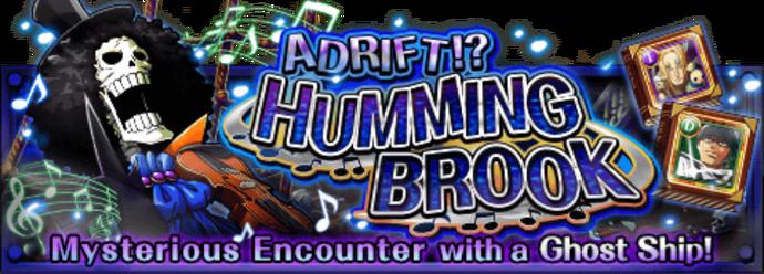 Adrift! Humming Brook Banner