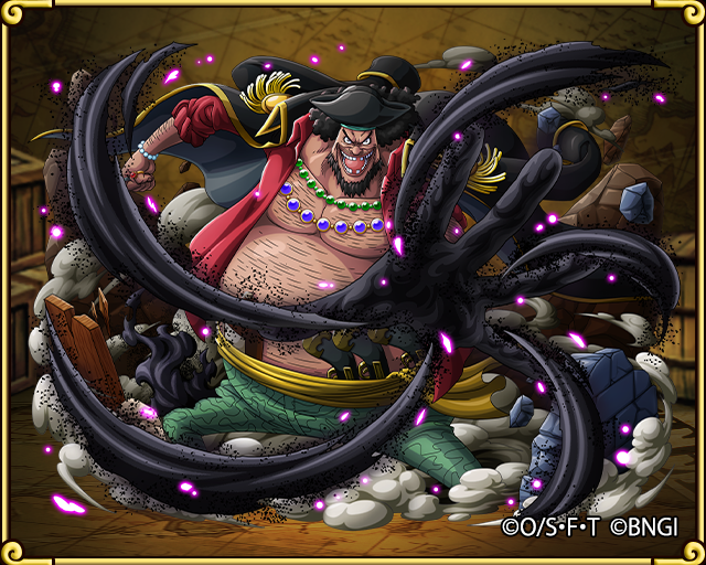 marshall d teach blackbeard pirate captain one piece