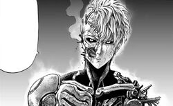 Genos after the G4 fight