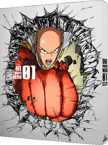 One Punch Man Vol. 1 Disc