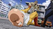 Bang handles Saitama