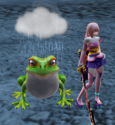 Raincaller Frog