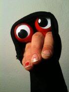 Oobi Uma Kako Grandpoo Grampu - Eyes Hand Puppet Blog