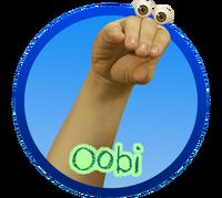 Oobi Noggin Nick Jr TV Series Show Hand Puppet