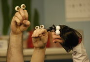 Noggin Oobi Grampu Dr Rose Doctor Hand Puppets Characters Nick Jr. Nickelodeon