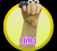 Oobi Uma Noggin Nick Jr TV Series Show Hand Puppet