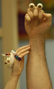 Oobi Grampu Uma Noggin Nick Jr TV Series Hand Puppet Characters