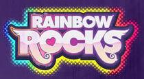 Rainbow rocks logo