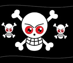 Red Eyes Jolly Roger