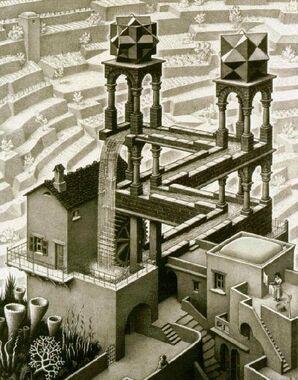 Escher Waterfall