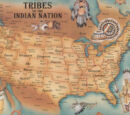 List and maps of Native American tribes