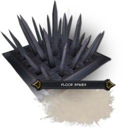 Floor Spikes Render