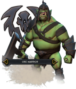 Orc Warriors Render