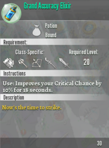 Grand Accuracy Elixir