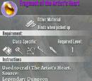 Fragment of the Artist's Heart