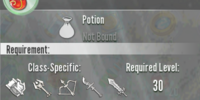 Legendary Health Potion
