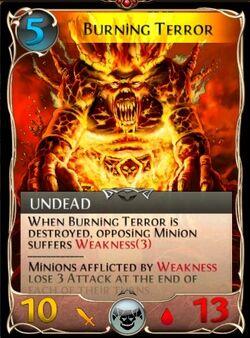 Burning terror updated