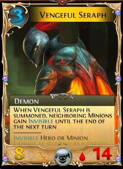 Vengeful Seraph Updated