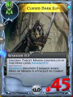 Cursed Dark Elf