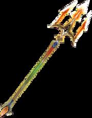 Lava King's Trident