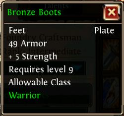 BronzeBoots
