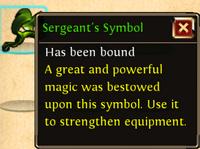 Sergeant's Symbol