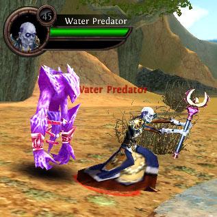 Water predator