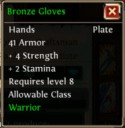 BronzeGloves