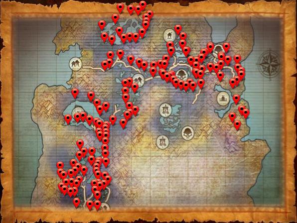 Map ore swamp