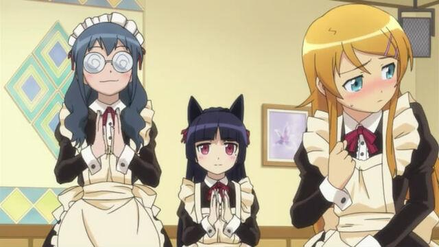 File:Kirino as a maid.jpg