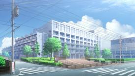 Chiba Benten Highschool view