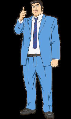 Takeo Gouda Anime Infobox