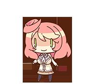 Nanoha Harukaze chibi