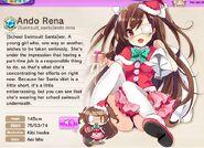 Ando Rena (School Swimsuit Santa ver) Album Entry