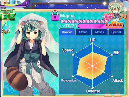 Mujina max balance