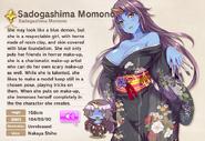 Sadogashima Momono album entry