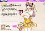 Lemon Matsushima Album
