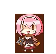 Maki Saegusa chibi