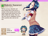 Makoto Kazanori Album Entry