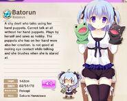 Batorun Album Entry