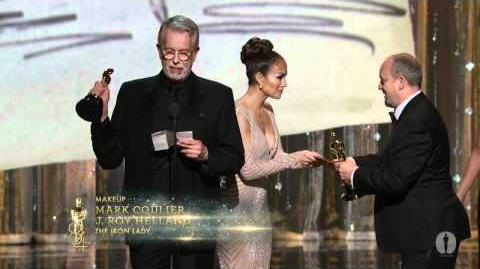 """The Iron Lady"" winning the Oscar® for Makeup"
