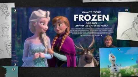 """Frozen"" winning Best Animated Feature Film"