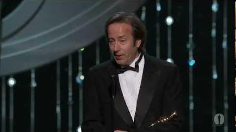 """Hugo"" winning the Oscar® for Sound Editing"