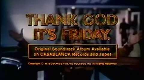 Thank God It's Friday 1978 trailer