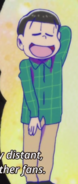 Choromatsu green plaid shirt