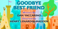 Goodbye Best Friend