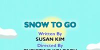 Snow to Go