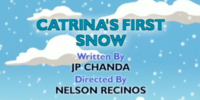 Catrina's First Snow